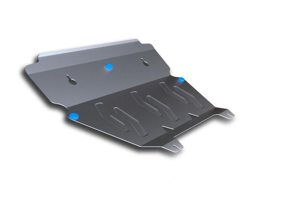 Защита картера и КПП Rival, для Volvo XC90, алюминий 4 мм. 333.5902.1333.5902.1Защита картера и КПП для Volvo XC90 , V - 2,5T, 2,4D 2007-2015, крепеж в комплекте, алюминий 4 мм, Rival Алюминиевые защиты картера Rival надежно защищают днище вашего автомобиля от повреждений, например при наезде на бордюры, а также выполняют эстетическую функцию при установке на высокие автомобили. - Толщина алюминиевых защит в 2 раза толще стальных, а вес при этом меньше до 30%. - Отлично отводит тепло от двигателя своей поверхностью, что спасает двигатель от перегрева в летний период или при высоких нагрузках. - В отличие от стальных, алюминиевые защиты не поддаются коррозии, что гарантирует срок службы защит более 5 лет. - Покрываются порошковой краской, что надолго сохраняет первоначальный вид новой защиты и защищает от гальванической коррозии. - Глубокий штамп дополнительно усиливает конструкцию защиты. - Подштамповка в местах крепления защищает крепеж от срезания. - Технологические отверстия...