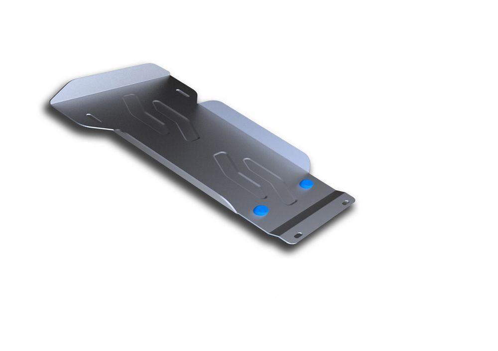 Защита КПП и РК Rival, для Lada 4х4, алюминий 3 мм333.6020.1Защита КПП и РК для Lada 4х4 V - все 2001-, крепеж в комплекте, алюминий 3 мм, Rival Алюминиевые защиты картера Rival надежно защищают днище вашего автомобиля от повреждений, например при наезде на бордюры, а также выполняют эстетическую функцию при установке на высокие автомобили. - Толщина алюминиевых защит в 2 раза толще стальных, а вес при этом меньше до 30%. - Отлично отводит тепло от двигателя своей поверхностью, что спасает двигатель от перегрева в летний период или при высоких нагрузках. - В отличие от стальных, алюминиевые защиты не поддаются коррозии, что гарантирует срок службы защит более 5 лет. - Покрываются порошковой краской, что надолго сохраняет первоначальный вид новой защиты и защищает от гальванической коррозии. - Глубокий штамп дополнительно усиливает конструкцию защиты. - Подштамповка в местах крепления защищает крепеж от срезания. - Технологические отверстия там, где они...