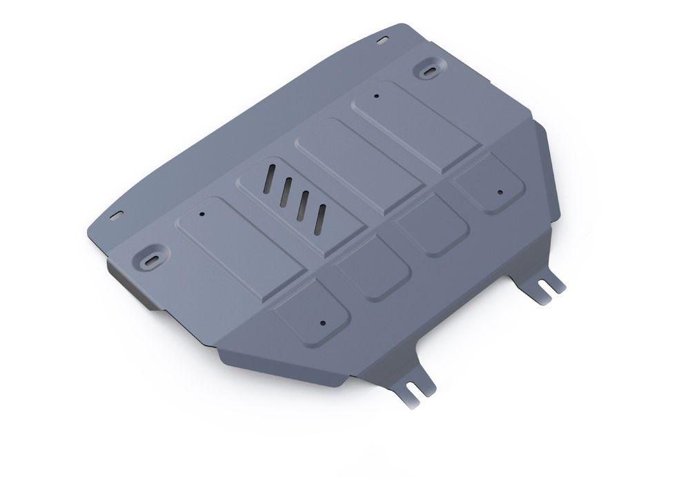 Защита картера и КПП Rival, для Mini Cooper, алюминий 4 мм333.8204.1Защита картера и КПП для Mini Cooper S Countryman, V-1,6i 2010-, крепеж в комплекте, алюминий 4 мм, Rival Алюминиевые защиты картера Rival надежно защищают днище вашего автомобиля от повреждений, например при наезде на бордюры, а также выполняют эстетическую функцию при установке на высокие автомобили. - Толщина алюминиевых защит в 2 раза толще стальных, а вес при этом меньше до 30%. - Отлично отводит тепло от двигателя своей поверхностью, что спасает двигатель от перегрева в летний период или при высоких нагрузках. - В отличие от стальных, алюминиевые защиты не поддаются коррозии, что гарантирует срок службы защит более 5 лет. - Покрываются порошковой краской, что надолго сохраняет первоначальный вид новой защиты и защищает от гальванической коррозии. - Глубокий штамп дополнительно усиливает конструкцию защиты. - Подштамповка в местах крепления защищает крепеж от срезания. - Технологические отверстия...