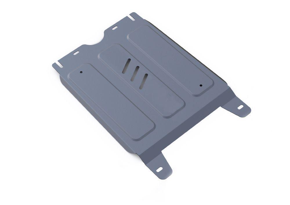 Защита КПП Rival, для Toyota Hilux, алюминий 4 мм333.9503.1Защита КПП для Toyota Hilux 4WD, V - 2,4; 2,8 2015-, крепеж в комплекте, алюминий 4 мм, Rival Алюминиевые защиты картера Rival надежно защищают днище вашего автомобиля от повреждений, например при наезде на бордюры, а также выполняют эстетическую функцию при установке на высокие автомобили. - Толщина алюминиевых защит в 2 раза толще стальных, а вес при этом меньше до 30%. - Отлично отводит тепло от двигателя своей поверхностью, что спасает двигатель от перегрева в летний период или при высоких нагрузках. - В отличие от стальных, алюминиевые защиты не поддаются коррозии, что гарантирует срок службы защит более 5 лет. - Покрываются порошковой краской, что надолго сохраняет первоначальный вид новой защиты и защищает от гальванической коррозии. - Глубокий штамп дополнительно усиливает конструкцию защиты. - Подштамповка в местах крепления защищает крепеж от срезания. - Технологические отверстия там, где они...