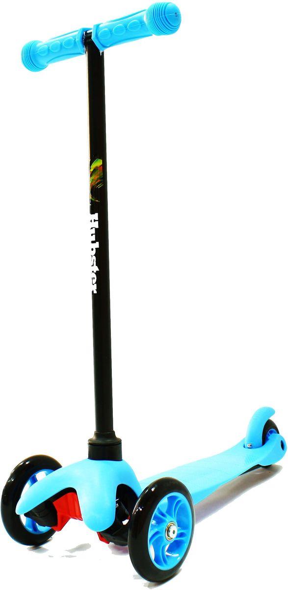 Самокат Hubster Mini, цвет: синий2245Высота руля от пола мин/макс: 64 см. Ширина руля: 25 см. Ширина деки: 11 см. Длина деки: 36 см. Размер колес: 120 мм. Максимальная нагрузка: 25 кг. Подшипники: ABEC7. Вес: 1,6 кг.