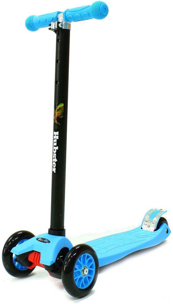 Самокат Hubster Maxi, цвет: синийво2250Высота руля от пола мин/макс: 65/89см. Ширина руля: 25 см. Ширина деки: 11 см. Длина деки: 39 см. Размер колес: 120 мм. Максимальная нагрузка: 60 кг. Подшипники: ABEC7. Вес: 2,4 кг.