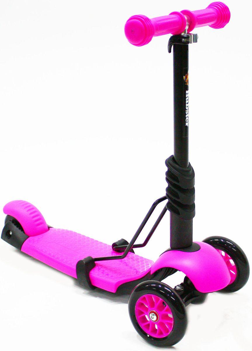 Самокат Hubster Lux Frog, цвет: розовыйво2266Вес: 2 кг. Упаковка: 59 x 26 x 20 (0,03 м3). Возраст: oт 2 до 5 лет. Максимальная нагрузка: до 50 кг. Уникальное рулевое управление. Высота руля: 50-72 см.
