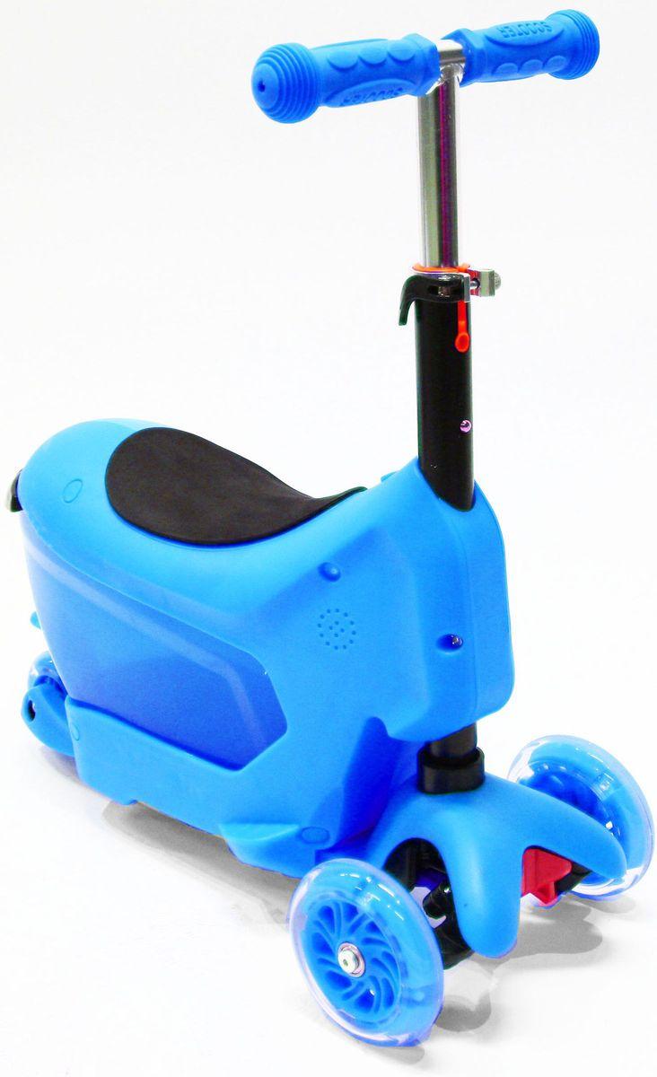 Самокат Hubster Comfort, цвет: синийво2276Вес: 2 кг. Упаковка: 59 x 26 x 20 см (0,03 м3). Возраст: oт 2 до 5 лет. Максимальная нагрузка до 50 кг. Уникальное рулевое управление. Высота руля: 50-72 см.