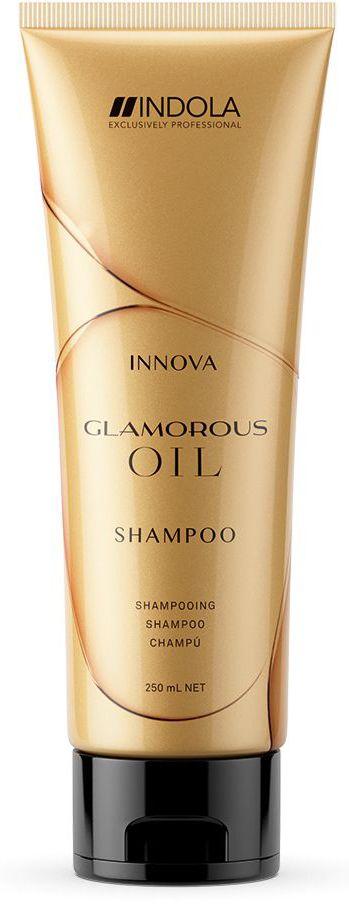Indola Шампунь Чарующее сияние Glamorous Oil Shampoo 250 мл1983943Индола Шампунь Чарующее сияние. Деликатно очищает волосы и сокращает сечение кончиков. Микроэмульсионная формула с мельчайшими каплями арганового масла питает каждый волос, придавая непревзайденный блеск, гладкость и красоту. Подходит для ежедневного применения и всех типов волос. Рекомендуется использовать в комплексе с маской и; или маслом Indola Glamorous Oil .