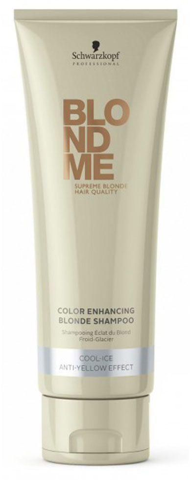 Blondme Шампунь для холодных оттенков Blondme Shampoo Cool-Ice 250 мл1813767БлондМи Шампунь для холодных оттенков блонд. Нейтрализует теплые оттенки и поддерживает холодное направление тона. Рекомендуется использовать в комплексе с маской и; или кондиционером BM BlondeMe.