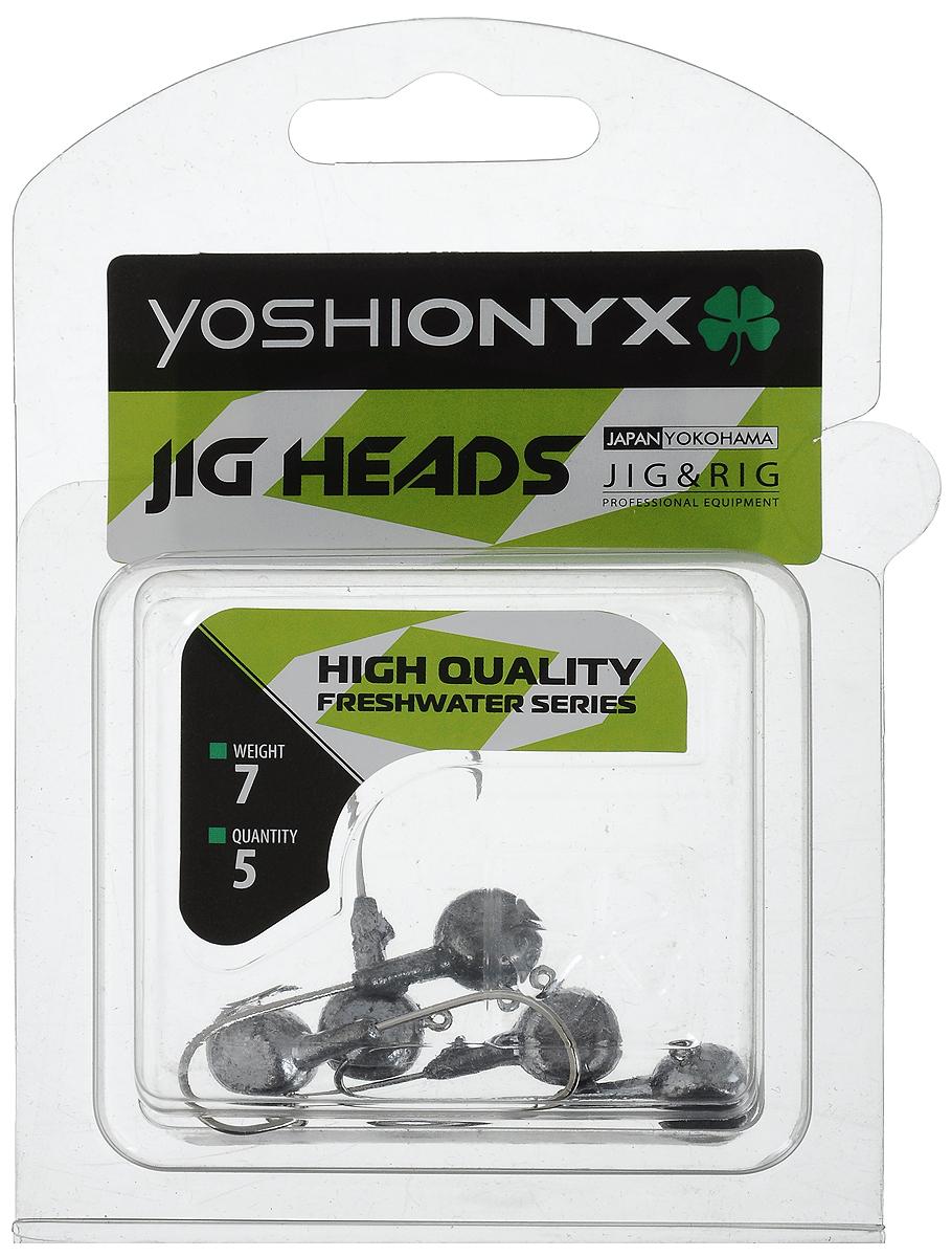Джигголовка Yoshi Onyx JIG Bros. Аспирин, крючок Gamakatsu, 7 г, 5 шт96525Джиг-головки Yoshi Onyx JIG Bros. Аспирин предназначены для ловли хищной рыбы, с использованием самых разных вариантов проводок на мягкие приманки. Это может быть и ступенчатая проводка по дну, и волнообразная в толще воды, и даже обычная ровная проводка. Джиг-головка оснащена крючком Gamakatsu. Такой крючок прекрасно пробивает жесткую пасть крупного судака, щуки и сома. Вес: 7 г. Количество: 5 шт.
