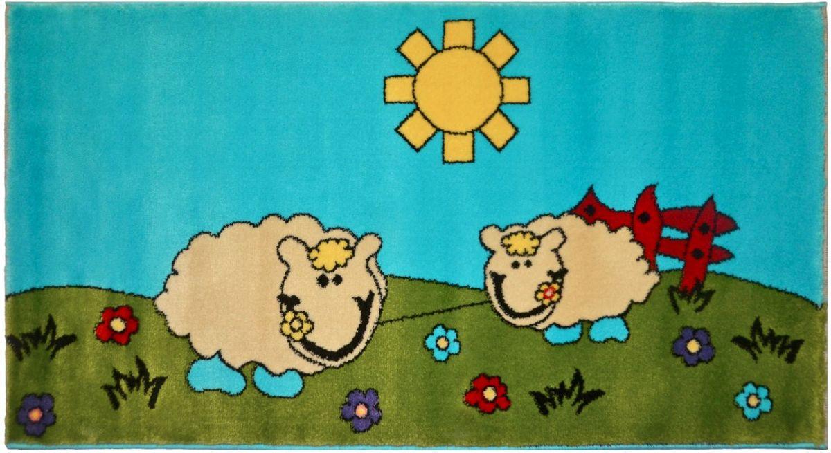 Ковер детский Kamalak Tekstil, 80 х 150 см. УКД-2050УКД-2050Детский ковер Kamalak Tekstil изготовлен из высококачественного полипропилена. Полипропилен износостоек, нетоксичен, не впитывает влагу, не провоцирует аллергию. Структура волокна в полипропиленовых коврах гладкая, поэтому грязь не будет въедаться и скапливаться на ворсе. Практичный и износоустойчивый ворс не истирается и не накапливает статическое электричество. Ковер обладает хорошими показателями теплостойкости и шумоизоляции. Оригинальный рисунок позволит гармонично оформить интерьер детской комнаты. За счет невысокого ворса ковер легко чистить. При надлежащем уходе синтетический ковер прослужит долго, не утратив ни яркости узора, ни блеска ворса, ни упругости. Самый простой способ избавить изделие от грязи - пропылесосить его с обеих сторон (лицевой и изнаночной). Влажная уборка с применением шампуней и моющих средств не противопоказана. Хранить рекомендуется в свернутом рулоном виде.