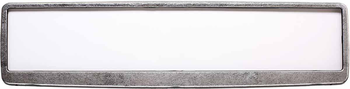 Рамка для номера Концерн Знак Винтаж, цвет: черный, сереброЗ0000015500Рамка для номера. Предназначена для крепления государственного регистрационного знака. Материал основания - полипропилен, материал лицевой панели ABS-пластик.