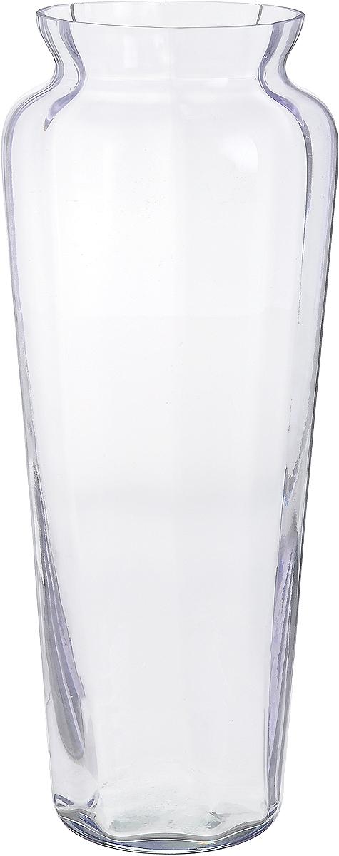 Ваза NiNaGlass Диана, цвет: лаванда, высота 38 см90-045_прозрачный, лавандаВаза NiNaGlass Диана, выполненная из высококачественного стекла, имеет изысканный внешний вид. Такая ваза станет ярким украшением интерьера и прекрасным подарком к любому случаю. Не рекомендуется мыть в посудомоечной машине. Высота вазы: 38 см. Диаметр вазы (по верхнему краю): 12 см.