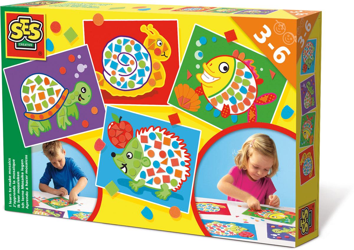 SES Creative Набор для творчества Учусь делать мозаику 14827