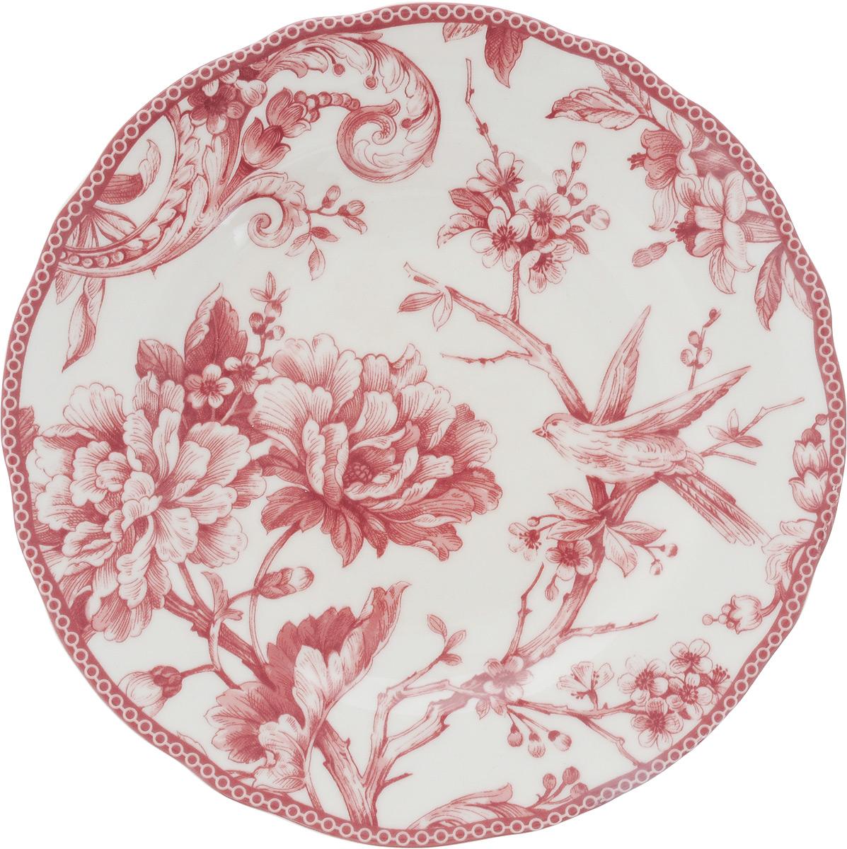 Тарелка десертная Sango Ceramics Аделаида Бордо, диаметр 22 смUTAB97810Десертная тарелка Sango Ceramics Аделаида Бордо, изготовленная из высококачественной керамики, имеет изысканный внешний вид. Такая тарелка прекрасно подходит как для торжественных случаев, так и для повседневного использования. Идеальна для подачи десертов, пирожных, тортов и многого другого. Она прекрасно оформит стол и станет отличным дополнением к вашей коллекции кухонной посуды. Можно использовать в посудомоечной машине и СВЧ. Диаметр тарелки: 22 см. Высота тарелки: 3 см.