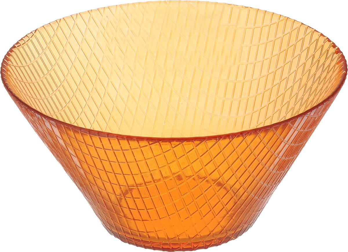 Салатник NiNaGlass Тэри, диаметр 17 см83-031-Ф170 ОРЖСалатник NiNaGlass Тэри выполнен из высококачественного стекла и имеет рельефную поверхность. Он прекрасно впишется в интерьер вашей кухни и станет достойным дополнением к кухонному инвентарю. Не рекомендуется использовать в микроволновой печи и мыть в посудомоечной машине. Диаметр салатника (по верхнему краю): 17 см. Высота салатника: 8,5 см.