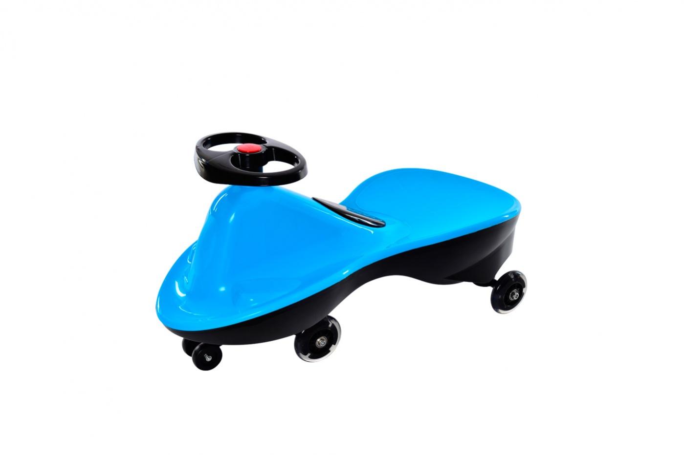 Bradex Машинка детская Бибикар Спорт с полиуретановыми колесами цвет голубой DE 0269_голубой