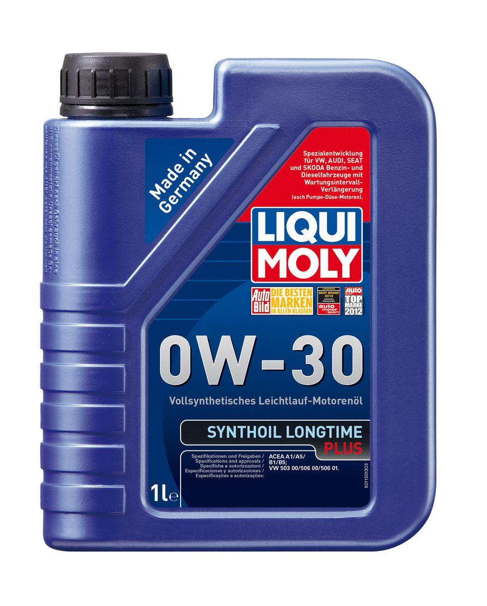 Масло моторное Liqui Moly Synthoil Longtime Plus, синтетическое, 0W-30, 1 л1150Масло моторное Liqui Moly Synthoil Longtime Plus - специальный продукт для автомобилей VW с двигателями R5 TDI и V10 TDI выпуска до 06.2006 (для других двигателей - Top Tec 4200). 100% ПАО-синтетическое всесезонное масло, специально разработанное под особые требования Volkswagen Group. Подходит для использования в бензиновых и дизельных автомобилях с турбонаддувом и без него. Значительно снижает расход топлива и одновременно повышает ресурс двигателя. Комбинация синтетической базы и передовых технологий в области разработок присадок гарантирует низкую вязкость масла при низких температурах, высокую надежность масляной пленки. Масло предотвращает образование отложений в двигателе, снижает трение и защищает от износа. Особенности: - Очень высокие показатели по экономии топлива - Быстрое поступление масла к деталям двигателя при низких температурах - Отличная чистота двигателя - Очень высокая защита от износа и надежность смазывания -...