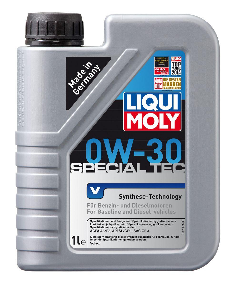 Масло моторное Liqui Moly Special Tec V, НС-синтетическое, 0W-30, 1 л2852Масло моторное Liqui Moly Special Tec V рекомендуется для автомобилей Volvo. НС-синтетическое легкотекучее моторное масло обладает отличной термоокислительной стабильностью, эффективно снижает износ, уменьшает потери на трение, предотвращает загрязнение двигателя. Оптимально для современных двигателей с управлением фазами ГРМ и высотой подъема клапанов, турбонаддувом, интеркулером, охлаждением газов рециркуляции. Используемая в Special Tec V рецептура базовых компонентов на основе новейших технологий синтеза, обеспечивает высочайшие защитные свойства в сочетании с отличными низкотемпературными характеристиками масла. Использование современного пакета присадок обеспечивает исключительную защиту от износа и снижение расхода топлива. Особенности: - Отличные пусковые свойства в мороз - Быстрое поступление масла ко всем деталям двигателя при низких температурах - Сокращает расход топлива и эмиссию выхлопных газов - Высокая смазывающая способность ...
