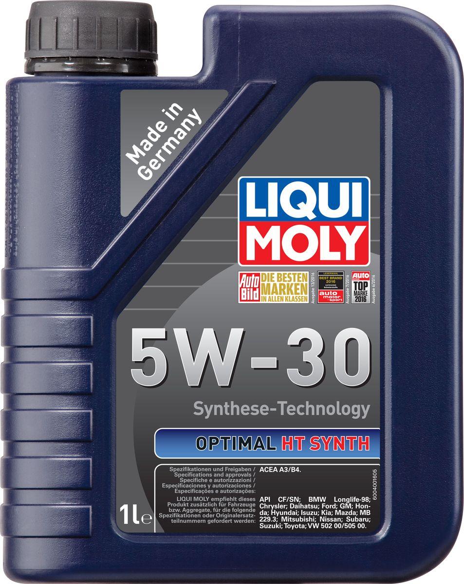 Масло моторное Liqui Moly Optimal HT Synth, НС-синтетическое, 5W-30, 1 л39000Масло моторное Liqui Moly Optimal HT Synth - универсальное моторное масло на базе гидрокрекинговой технологии синтеза (HC-синтеза). Удовлетворяет современным требованиям международных стандартов API и ACEA. Оптимально для современных моделей ВАЗ и иномарок с аналогичными требованиями. Отлично подходит двигателей с турбонаддувом и катализаторами. Масло обладает популярнейшим классом вязкости для современных автомобилей. Это современное моторное мало с хорошими антифрикционными свойствами высшего класса для всесезонного применения. Комбинация необычных базовых масел на основе гидрокрекинга и самой современной технологии присадок гарантирует получение моторного масла, которое снижает расход масла и топлива и заботится о быстрейшей смазке двигателя. Особенности: - легкий ход мотора, - высокая устойчивость смазки, - высокая стабильность, - превосходная устойчивость к старению, - быстрое снабжение маслом при низких...