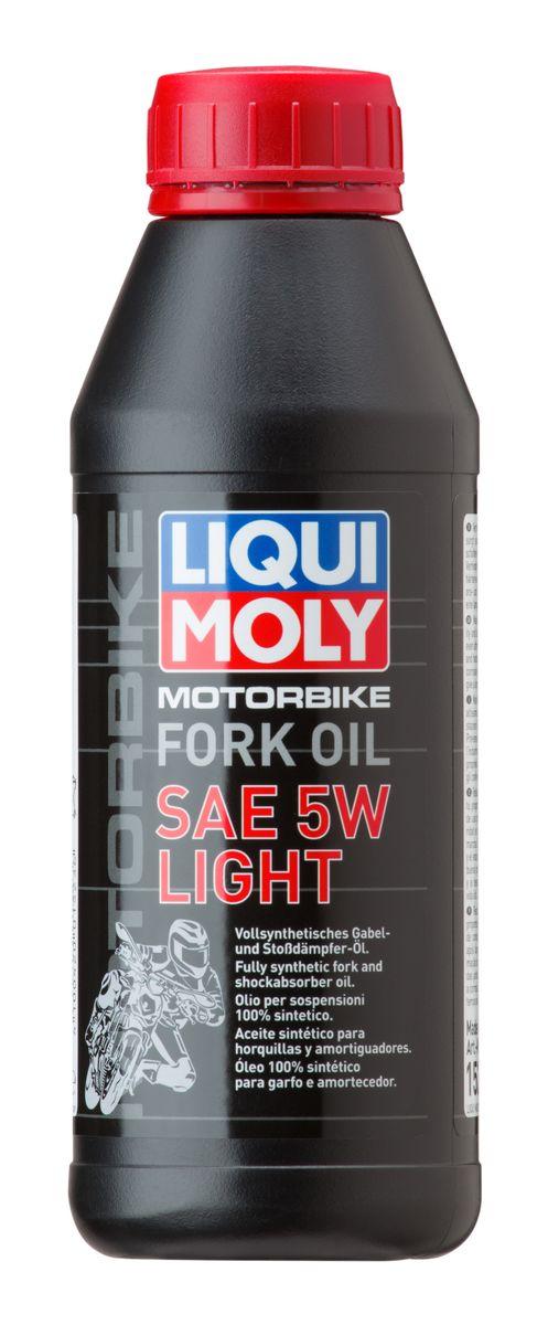Масло для вилок и амортизаторов Liqui Moly Motorbike Fork Oil Light, синтетическое, 5W, 500 мл7598Масло для вилок и амортизаторов Liqui Moly Motorbike Fork Oil Light - 100% ПАО-синтетическое масло для использования в качестве демпфирующей жидкости в гидравлических амортизаторах мотоциклов и другой мототехники. Обладает малой вязкостью, оптимально для использования в длинноходных подвесках, согласно рекомендациям производителей. Препятствует вспениванию, облегчает ход вилки, снижает износ. Обеспечивает плавный ход и отличную амортизацию. Повышает безопасность езды.