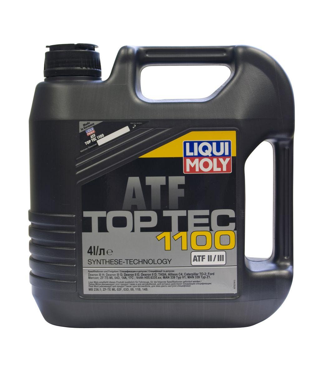 Масло трансмиссионное Liqui Moly Top Tec ATF 1100, НС-синтетическое, 4 л7627Масло трансмиссионное Liqui Moly Top Tec ATF 1100 отвечает требованиям производителей как трансмиссий и гидроусилителей рулевого управления, так и дополнительных навесных агрегатов. HC-синтетическая универсальная жидкость для автоматических и механических трансмиссий легковых и грузовых автомобилей. Обеспечивает безупречную работу агрегатов при любых нагрузках и колебаниях температуры. Top Tec ATF 1100 создана на базе масел HC-синтеза и современного пакета присадок, что гарантирует безупречную работу жидкости при любых нагрузках и колебаниях температуры. Особенности: - Гарантирует высокую температурную стабильность - Обладает максимальной стабильностью к старению - Обеспечивает отличную антикоррозионную защиту Допуск: -Dexron: II D/II E/III G/III H -ATF TASA: (Typ A Suffix A) -ZF: TE-ML 04D/TE-ML 14A/TE-ML 17C -Caterpillar: TO-2 -Ford: Mercon -MAN: 339 Typ V1/339 Typ Z1 -MB: 236.1 -Voith:...