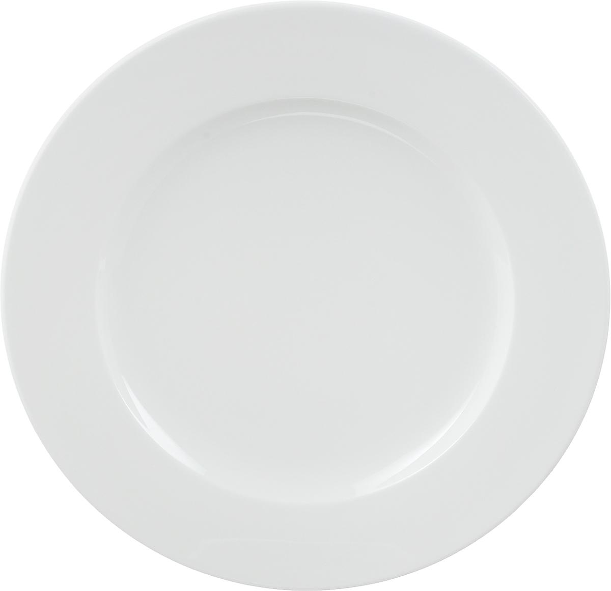 Тарелка мелкая Ariane Прайм, диаметр 31 смAPRARN11031Мелкая тарелка Ariane Прайм, изготовленная из высококачественного фарфора, имеет классическую круглую форму. Такая тарелка отлично подойдет в качестве блюда для сервировки закусок, нарезок, горячих блюд. Изделие прекрасно впишется в интерьер вашей кухни и станет достойным дополнением к кухонному инвентарю. Тарелка Ariane Прайм подчеркнет прекрасный вкус хозяйки и станет отличным подарком. Можно мыть в посудомоечной машине и использовать в микроволновой печи. Высота тарелки: 2 см. Диаметр тарелки: 31 см.