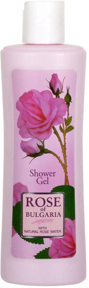 Rose of Bulgaria Гель для душа с дозатором, 230 мл65737Нежный и деликатный душ–гель для ежедневной гигиены тела. Эффективно смывает загрязнения, не нарушая физиологический баланс кожи. Содержит уникальную болгарскую натуральную розовую воду с большим содержанием эфирного розового масла, обладающим отличными антибактериальными свойствами. Гель не раздражает и не сушит кожу, создает длительное чувство чистоты и комфорта.