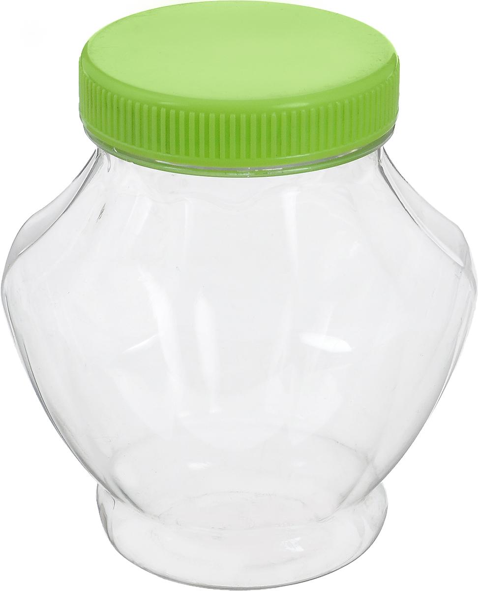 Банка для меда Альтернатива, цвет: прозрачный, салатовый, 300 млM1704_прозрачный, салатовыйБанка для меда Альтернатива, изготовленная из высококачественного пластика, оснащена плотно закрывающейся крышкой. Банка для меда Альтернатива идеально подойдет для сервировки стола и станет отличным подарком к любому празднику. Диаметр банки (по верхнему краю): 6 см. Высота (без учета крышки): 11 см.