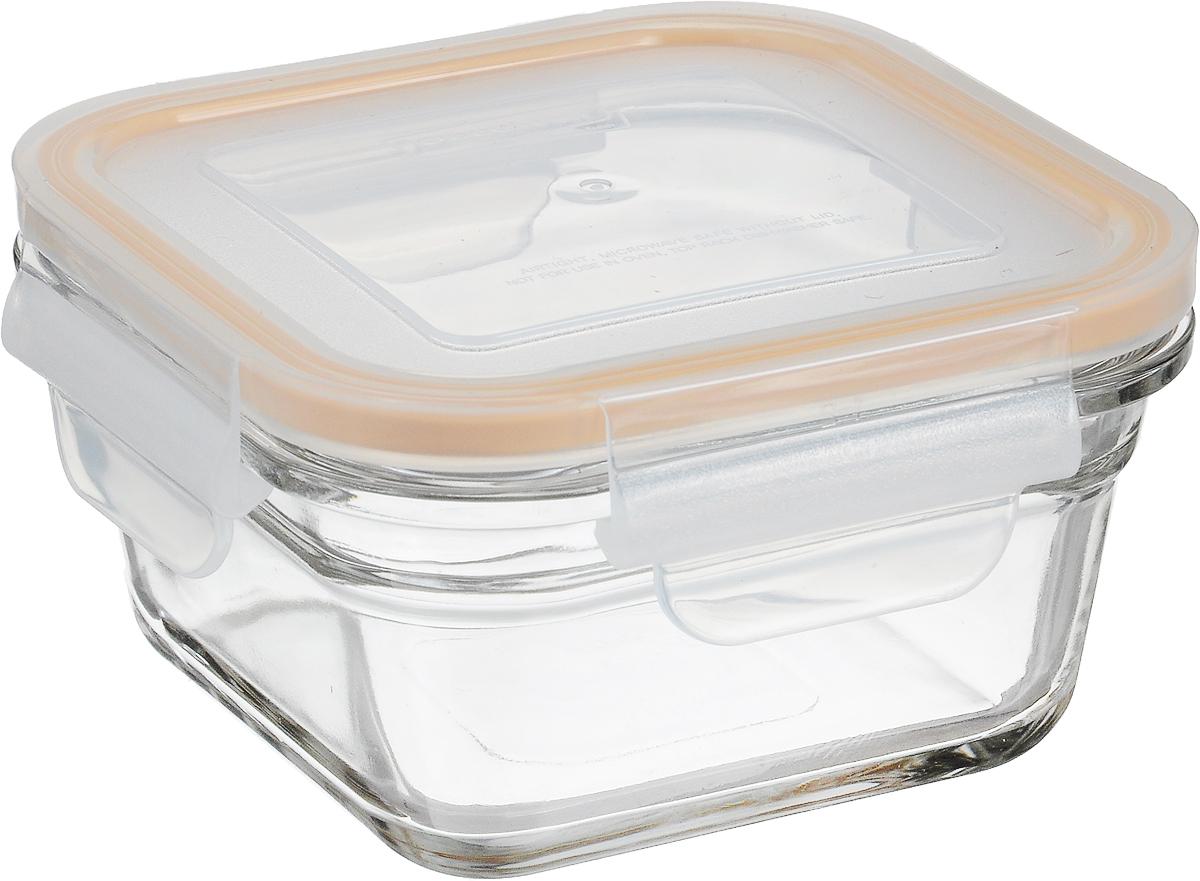 Контейнер Glasslock, квадратный, цвет: прозрачный, оранжевый, 405 млOCST-040_оранжевый, прозрачныйКонтейнер пищевой Glasslock изготовлен из высококачественного закаленного ударопрочного стекла. Герметичная крышка, выполненная из пластика и снабженная уплотнительной силиконовой вставкой, надежно закрывается с помощью четырех защелок. Подходит для мытья в посудомоечной машине, хранения в холодильных и морозильных камерах, использования в микроволновых печах. Выдерживает резкий перепад температур. Стеклянная посуда нового поколения от Glasslock экологична, не содержит токсичных и ядовитых материалов; превосходная герметичность позволяет сохранять свежесть продуктов; покрытие не впитывает запах продуктов; имеет утонченный европейский дизайн - прекрасное украшение стола. Размер контейнера по верхнему краю: 11 х 11 см. Высота контейнера (с учетом крышки): 7,5 см.