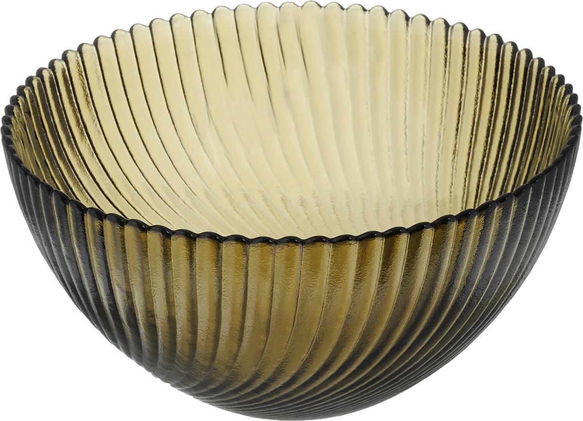 Салатник NiNaGlass Альтера, цвет: дымчатый, диаметр 16 см83-037-ф160 ДЫМСалатник NiNaGlass Альтера выполнен из высококачественного стекла и декорирован рельефным узором. Он подойдет для сервировки стола как для повседневных, так и для торжественных случаев. Такой салатник прекрасно впишется в интерьер вашей кухни и станет достойным дополнением к кухонному инвентарю. Подчеркнет прекрасный вкус хозяйки и станет отличным подарком. Не рекомендуется использовать в микроволновой печи и мыть в посудомоечной машине. Диаметр салатника (по верхнему краю): 16 см. Высота стенки: 8 см.