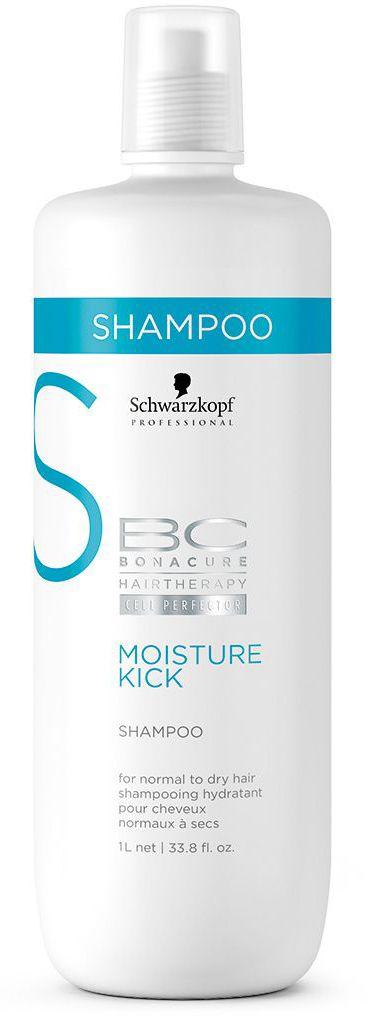 Bonacure Интенсивное Увлажнение Шампунь Moisture Kick 1000 мл1801254Увлажняющий шампунь для нормальных или сухих, ломких или кудрявых волос. Интенсивно увлажнениет волосы, не содержит силиконов, мягко очищает волосы и кожу головы, обеспечивая дополнительное увлажнение и предотвращая обезвоживание. Для достижения максимального результата рекомендуется использовать в комплексе с продуктами ухода линии BC Moisture Kick.
