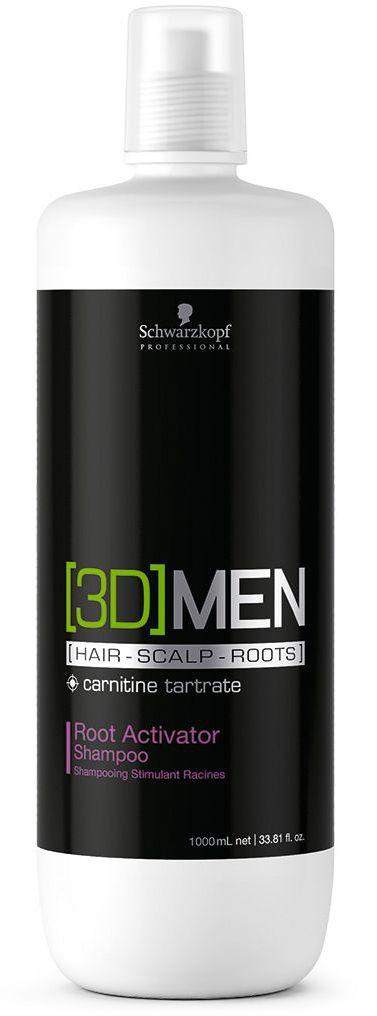 [3D]Men Deep Cleansing Шампунь активатор роста волос – очищение 1000 мл1853309Шампунь Активатор роста волос. Для мужчин. Стимулирует волосянные луковицы и помогает волосам восстановить плотность, а также сокращает потерю волос. Пантенол , таурин и карнитин - это три ключевых компонента, которые воздействуют одновременно на волосы, кожу головы и корни волос, влияя на факторы роста волос и доставляя питательные вещества в волосяные фолликулы. Для достижения максимального результата рекомендуется использовать в комплексе с сывороткой активатором роста волос [3D]MEN Root Activator.