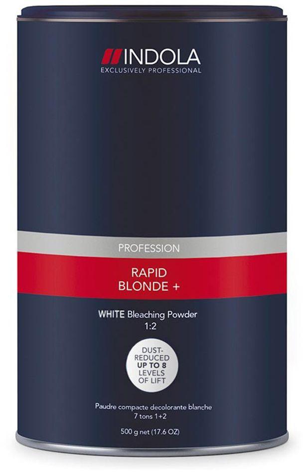 Indola RapidBlond WHITE Порошок обесцвечивающий белый 450 г1895299Порошок обесцвечивающий белый. Для достижения максимально светлого оттенка блонд на темной базе или на окрашенных волосах. Осветляет до 8 уровней, благодаря уникальной комбинации активных элементов. Высокая нейтрализация остаточной желтизны за счет антижелтых пигментов