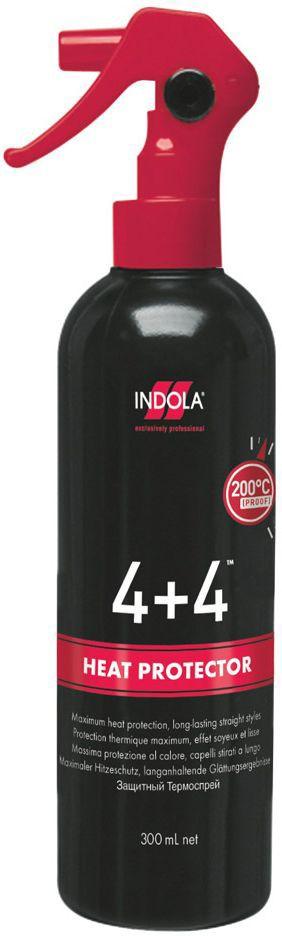 Indola Защитный термо-спрей 4+4 300 мл1953481Для защиты волос при укладке феном или термоинструментами