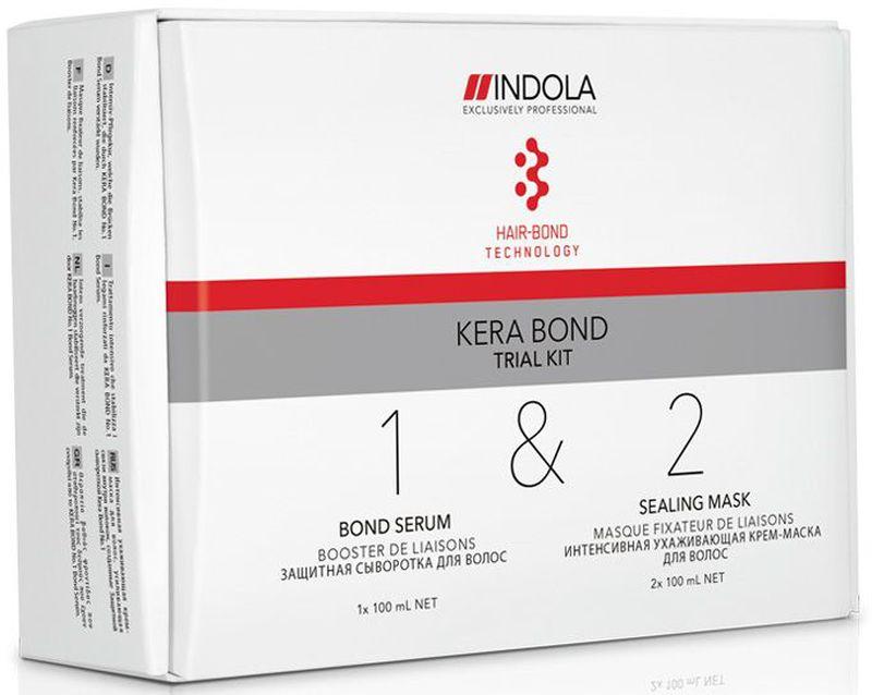 Indola Стартовый Набор Kera Bond 100/100/100 мл2077213В набор входит: Шаг 1 Bond Serum 100 мл - 1 шт.; Шаг 2 Sealing Mask 100 мл - 2 шт. Двух ступенчатая технология Kera Bond - это инновационная технология Hair Bond Technology, современный ассортимент продуктов против ломкости волос, предотвращающий повреждение волос во время химических процедур и значительно улучшающий качество волос, даже ранее окрашенных.
