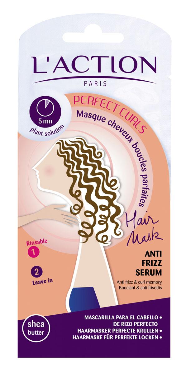Laction Маска для вьющихся волос, 15мл+3,5мл709440Благодаря активным компонентам на основе пшеницы средство увлажняет и защищает волосы. Полимеры структурируют локоны и облегчают укладку, уменьшая мелкие завитки и статическое электричество. Ваши локоны становятся поистине безупречными.