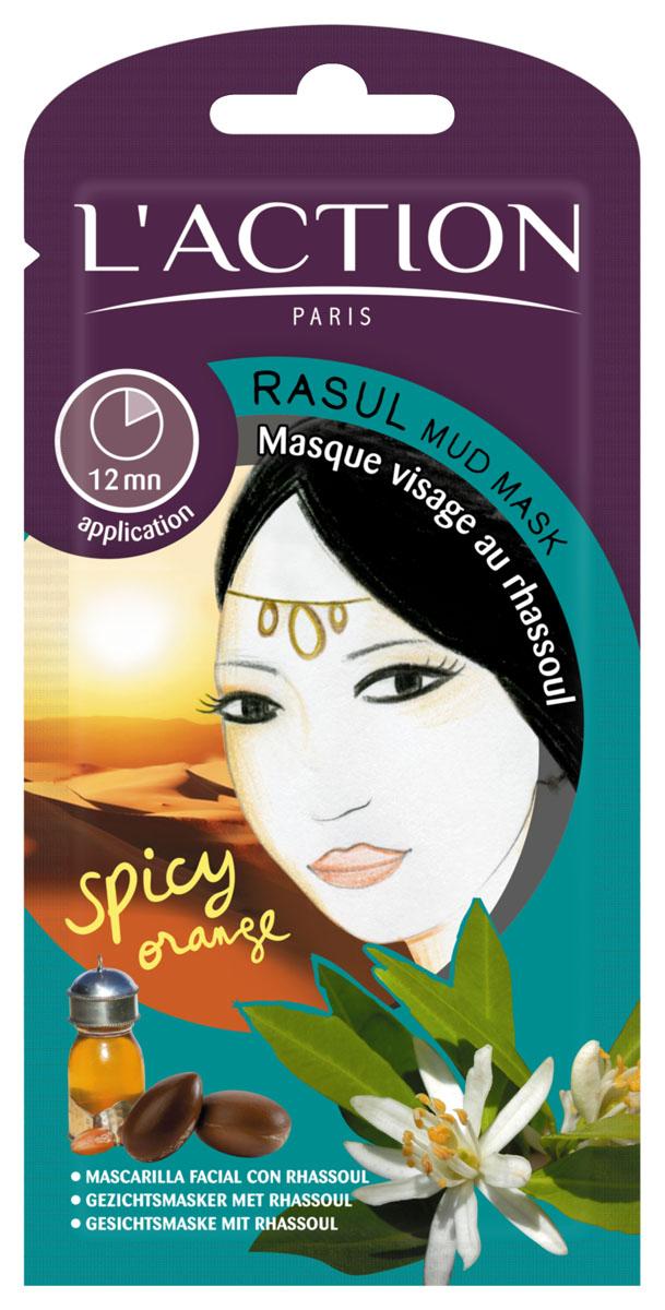 L'action Маска для лица с глиной расул Rasul Mud, 12 г