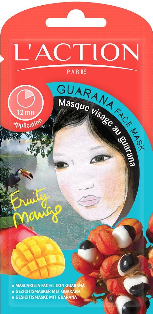 L'action Маска для лица с экстрактом гуараны Guarana, 12 г