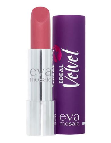 Eva Mosaic Губная помада Ideal Velvet матовая, 4,3 г, 03821977Матовая с высоким содержанием пигмента формула помады подарит вашим губам интенсивный цвет. Превосходно наносится, оставляя тонкое равномерное устойчивое покрытие. Входящие в состав витамины E и F смягчают и увлажняют нежную кожу губ в течение всего дня. Не содержит силикона. Помаду можно наносить самостоятельно или в сочетании с контурным карандашом. Для наилучшего результата рекомендуется наносить на предварительно увлажненную кожу губ.