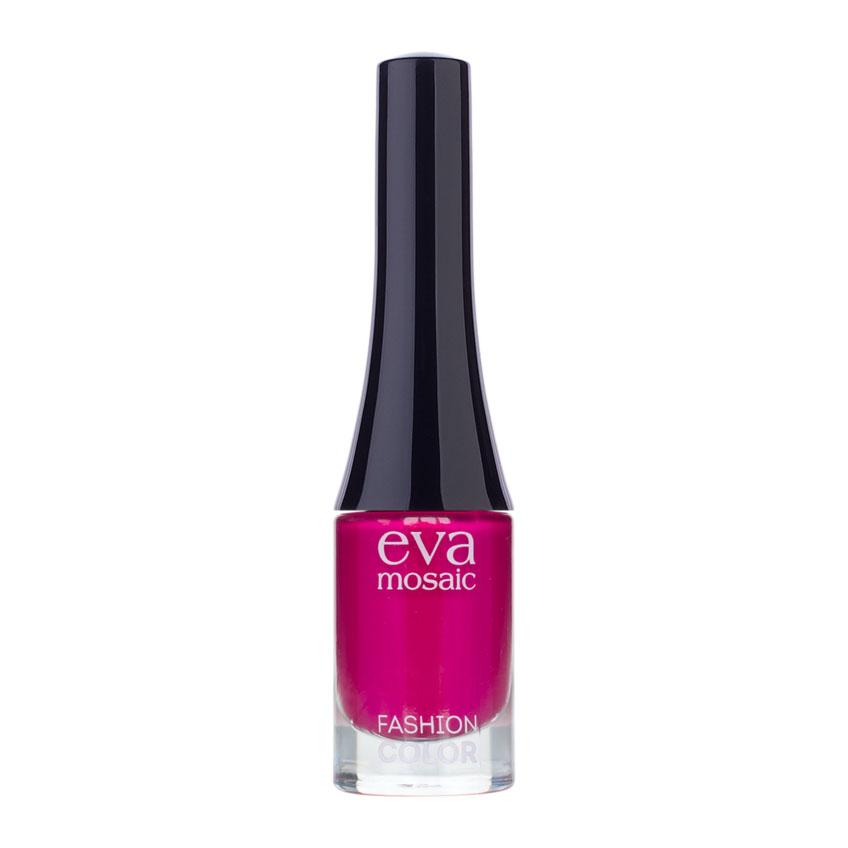 Eva Mosaic Лак для ногтей Fashion Color, 6 мл, 339829714Стойкие лаки для ногтей в экономичной упаковке небольшого объема - лак не успеет надоесть или загустеть! Огромный спектр оттенков - от сдержанной классики до самых смелых современных тенденций. - легко наносятся и быстро сохнут - обладают высокой стойкостью и зеркальным блеском - эргономичная плоская кисть для быстрого, аккуратного и точного нанесения.