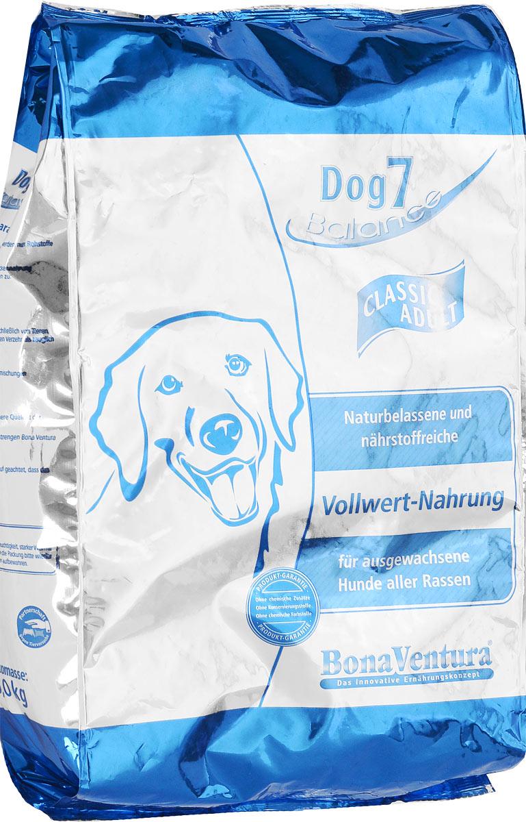 Корм сухой BonaVentura Dog 7 Classic Adult для взрослых собак, 5 кг205105Натуральный корм для собак BonaVentura Dog 7 Classic Adult произведен из продуктов, пригодных в пищу человека по специальной технологии, схожей с технологией Sous Vide. Благодаря технологии при изготовлении сохраняются все натуральные витамины и минералы. Это достигается благодаря бережной обработке всех ингредиентов при температуре менее 80 градусов. Такая бережная обработка продуктов не стерилизует продуктовые компоненты. Благодаря этому корма не нуждаются ни в каких дополнительных вкусовых добавках и сохраняют все необходимые полезные вещества. При производстве кормов используются исключительно свежие натуральные продукты: мясо, овощи и зерновые; Приготовлено из 100% свежего мяса, пригодного в пищу человеку; Содержит натуральные витамины, аминокислоты, минеральные вещества и микроэлементы; С экстрактом масла зародышей зерна пшеницы холодного отжима (Bio-Dura); Без химических красителей, усилителей вкуса, искусственных консервантов и химических...