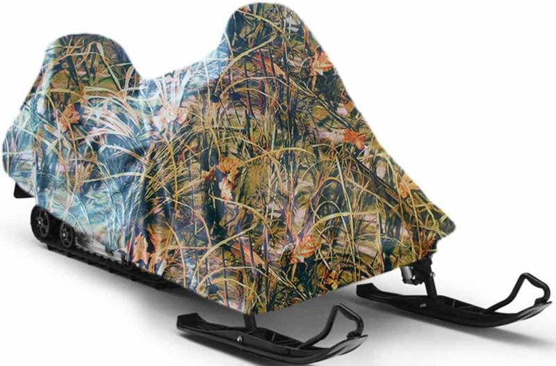 Чехол для снегохода Tplus Yamaha Viking VK 540, цвет: тростникT001605Размер (длина/ширина/высота): 3200х1150х1400 мм; Материал: оксфорд пл. 240 - обладает водоотталкивающими свойствами, повышенной прочностью и износоустойчивостью; Подходит для хранения.