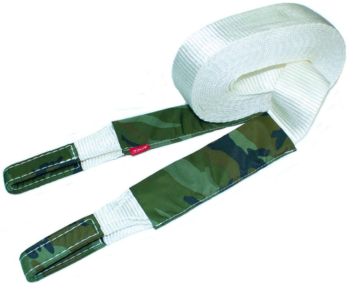 Строп динамический Tplus Туризм, рывковый, 6 т, 9 мT004990Минимальная разрывная нагрузка (MBS): 6 т; Длина: 9 м; Ширина ленты: 65 мм; Материал ленты: полиамид; Защита петель: оксфорд; Защита швов: оксфорд; Эластичность (удлинение при нагрузке): 20%; Исполнение: петля/петля; Применяется для а/м массой* до 1.6 т ; В комплекте непромокаемый мешок для хранения; Гарантия: 1 год. *масса а/м = снаряженная масса а/м + 100 кг (+20% при эвакуации а/м из грязи). Если а/м оснащен дополнительным оборудованием (силовой бампер, лебёдка и т. п.), то масса а/м = снаряженная масса а/м + 100 кг + масса дополнительно установленного навесного оборудования (+20% при эвакуации а/м из грязи).