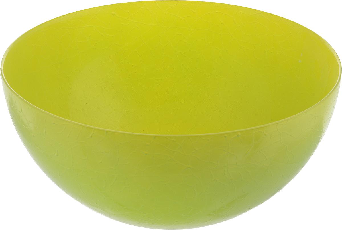 Салатник NiNaGlass Шеф, цвет: желто-зеленый, диаметр 28 см83-089-ф280 Ж-ЗелСалатник NiNaGlass Шеф выполнен из высококачественного стекла. Он прекрасно подойдет для подачи различных блюд: закусок, салатов или фруктов. Изделие отлично впишется в интерьер вашей кухни и станет достойным дополнением к кухонному инвентарю. Не рекомендуется мыть в посудомоечной машине. Диаметр салатника (по верхнему краю): 28 см. Высота салатника: 13 см.