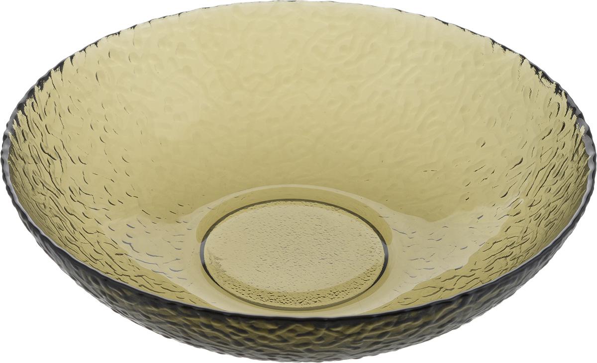 Тарелка NiNaGlass Ажур, цвет: дымчатый, 20 х 20 х 5 см83-072-ф200/H50 ДЫМТарелка NiNaGlass Ажур выполнена из высококачественного стекла и имеет рельефную поверхность. Она прекрасно впишется в интерьер вашей кухни и станет достойным дополнением к кухонному инвентарю. Не рекомендуется использовать в микроволновой печи и мыть в посудомоечной машине.