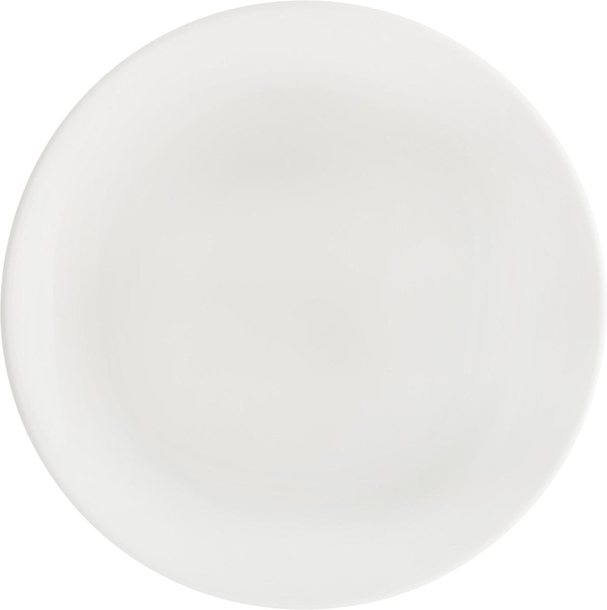 Тарелка Ariane Коуп, диаметр 18 см. AVCARN11018AVCARN11018Тарелка Ariane Коуп, изготовленная из высококачественного фарфора, имеет классическую круглую форму. Такая тарелка отлично подойдет в качестве блюда для закусок и нарезок, а также для подачи различных десертов. Изделие прекрасно впишется в интерьер вашей кухни и станет достойным дополнением к кухонному инвентарю. Тарелка Ariane Коуп подчеркнет прекрасный вкус хозяйки и станет отличным подарком. Можно мыть в посудомоечной машине и использовать в микроволновой печи. Высота: 1,5 см. Диаметр тарелки: 18 см.