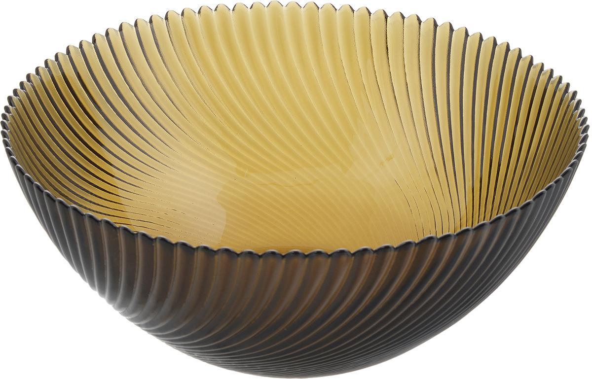 Салатник NiNaGlass Альтера, цвет: дымчатый, диаметр 25 см83-039-ф250 ДЫМСалатник NiNaGlass Альтера выполнен из высококачественного стекла и декорирован рельефным узором. Он подойдет для сервировки стола как для повседневных, так и для торжественных случаев. Такой салатник прекрасно впишется в интерьер вашей кухни и станет достойным дополнением к кухонному инвентарю. Подчеркнет прекрасный вкус хозяйки и станет отличным подарком. Не рекомендуется использовать в микроволновой печи и мыть в посудомоечной машине. Диаметр салатника (по верхнему краю): 25 см. Высота стенки: 10,5 см.