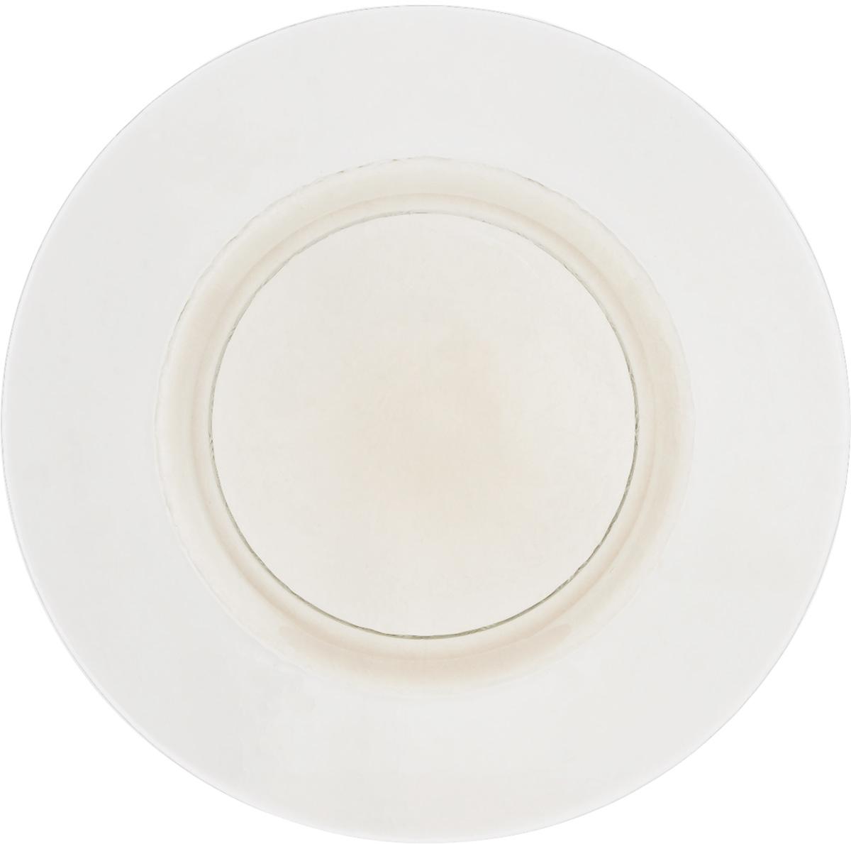 Тарелка NiNaGlass Богемия, цвет: прозрачный, диаметр 32,5 см83-056-Ф320 СМОКИТЕРМТарелка NiNaGlass Богемия выполнена из высококачественного стекла. Она прекрасно впишется в интерьер вашей кухни и станет достойным дополнением к кухонному инвентарю. Не рекомендуется использовать в микроволновой печи и мыть в посудомоечной машине.