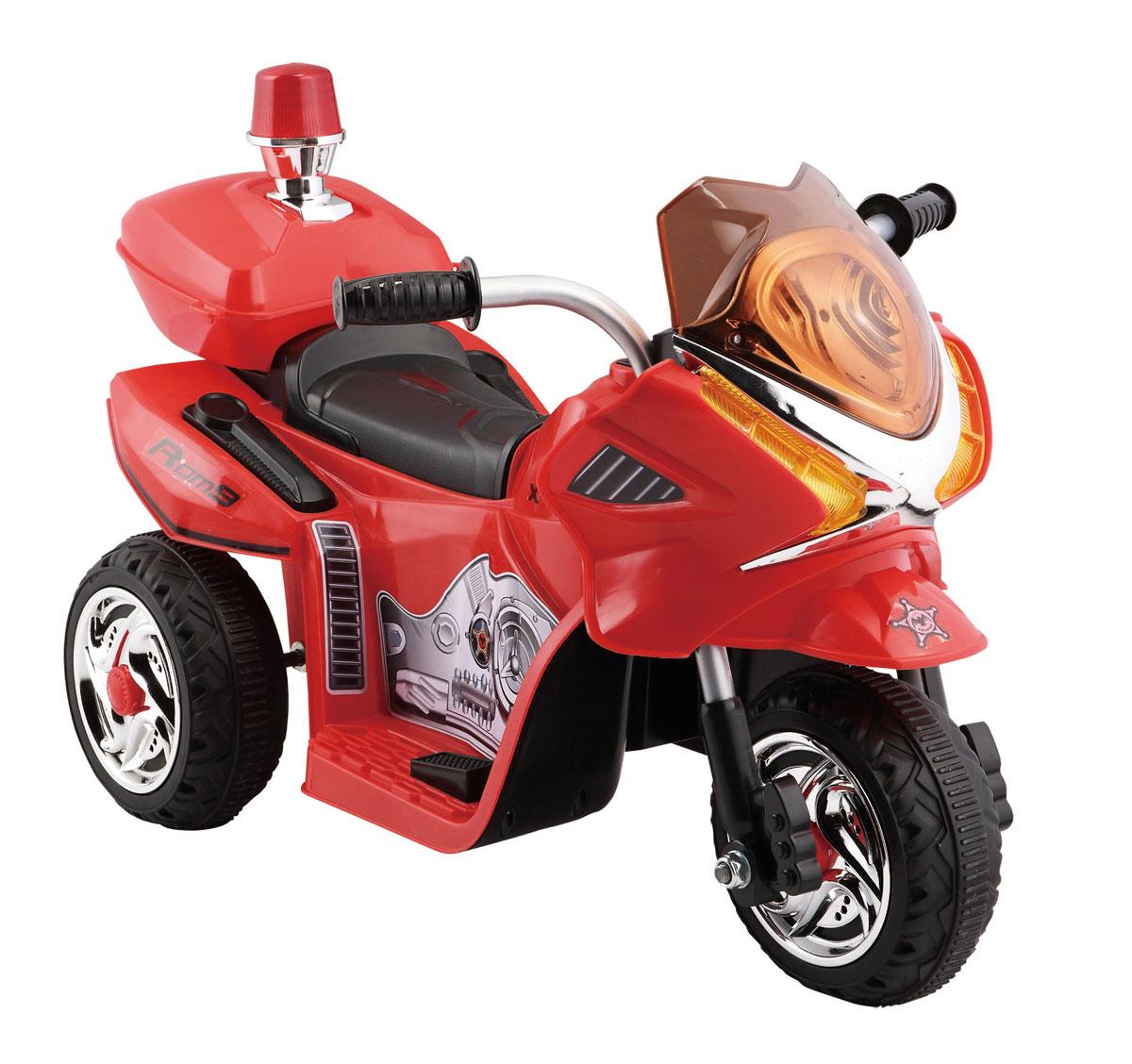 1TOY Мотоцикл аккумуляторный цвет красный Т58703