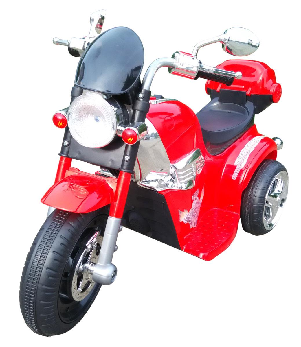1TOY Мотоцикл аккумуляторный цвет красный черный Т59747