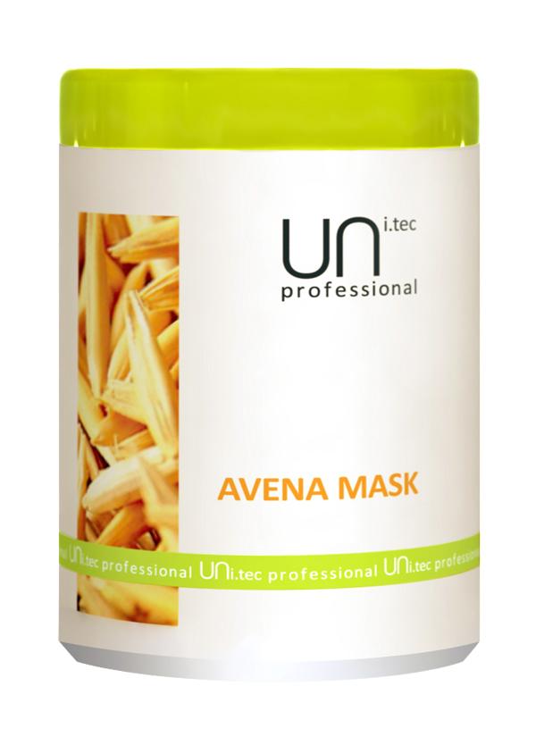 Uni.tec Маска для волос питательная Avena Mask, 1000 млU0003Комплекс активных ингредиентов интенсивно питает и увлажняет волосы, восстанавливает естественный гидробаланс. Применение: Нанести на чистые, вымытые волосы легкими массирующими движениями по всей длине, распутать если нужно. Для усиления действия оставить на 3 минуты, тщательно смыть теплой водой.