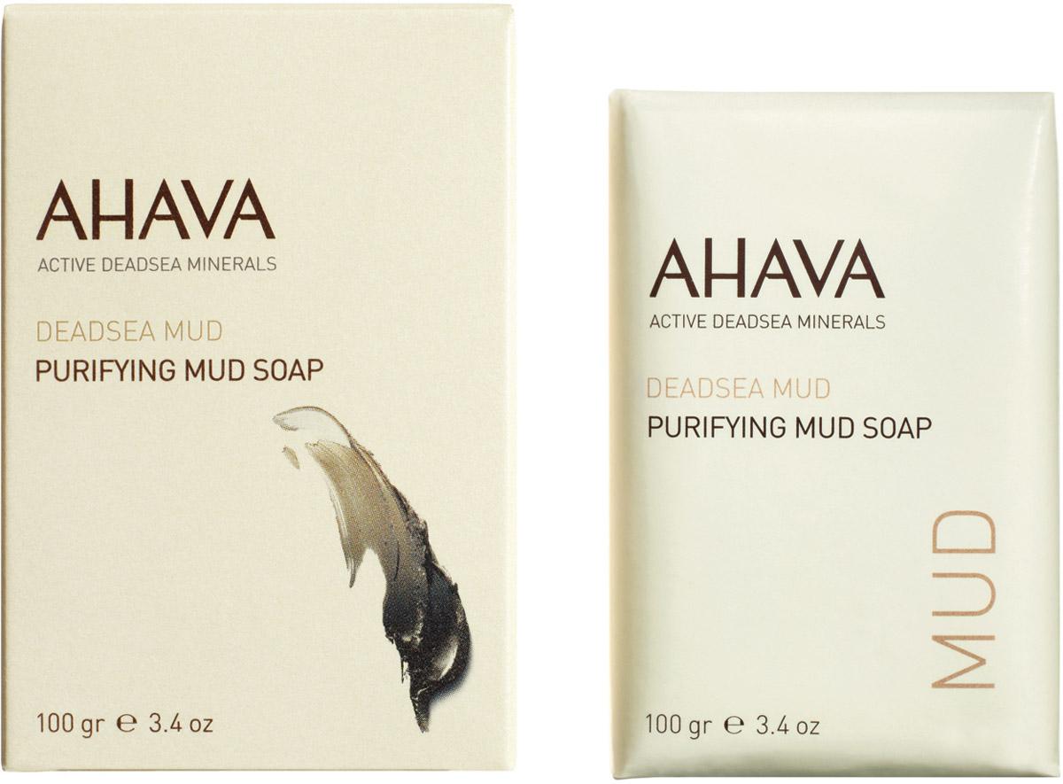Ahava Deadsea Mud М Мыло на основе грязи мертвого моря 100 гр ahava mud крем питательный для тела dermud
